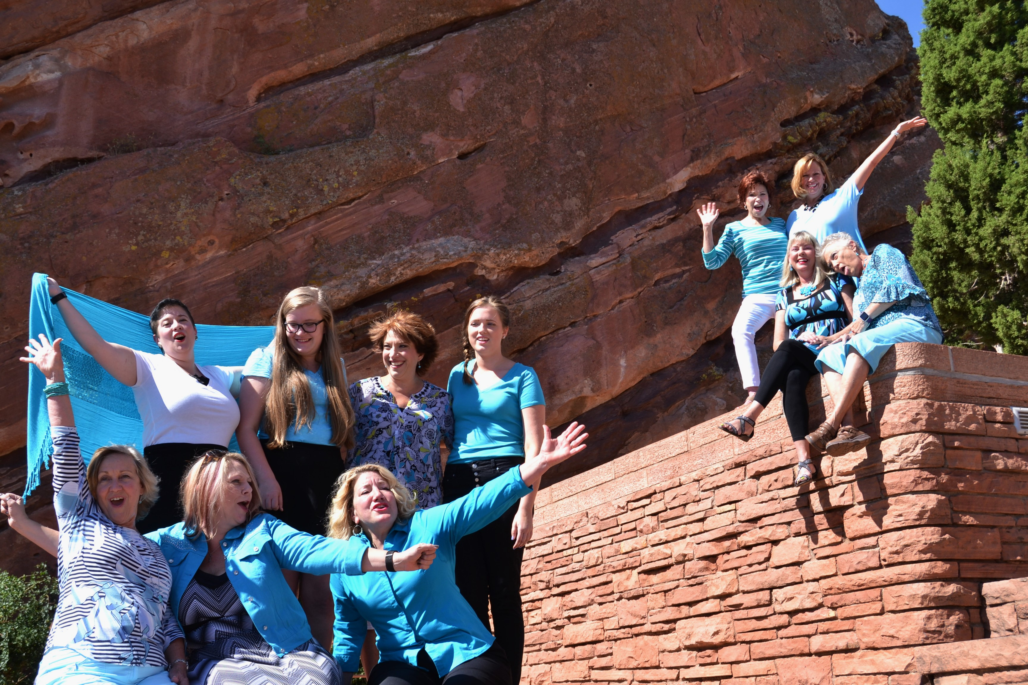 Red Rocks fun!